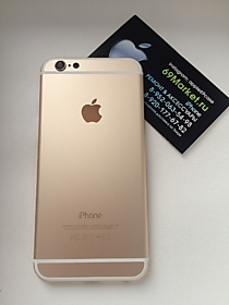 Замена корпуса на iPhone 6 Gold